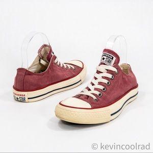 Converse All Star Low Tops Shoe Sneakers Merlot